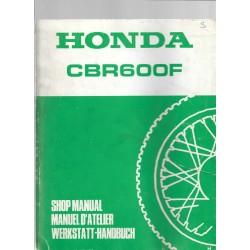 HONDA CBR 600 F (Manuel atelier de base)
