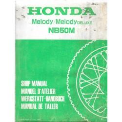 HONDA MELODY- MELODY Ide luxe (Manuel de base 02.84)