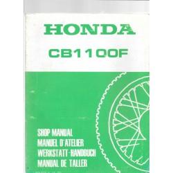 HONDA CB 1100 F BOL D'OR (Manuel de base mars 1983)