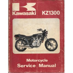 Manuel atelier KAWASAKI KZ 1300