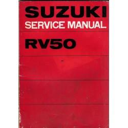 Manuel atelier SUZUKI RV 50 de 1974 et plus