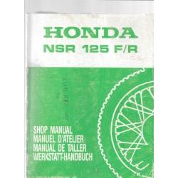 HONDA NSR 125 F / R (Manuel de base mai 1989)