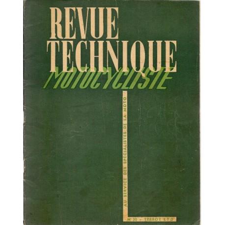 Revue Technique Motocycliste n° 30 juin-juillet 1950