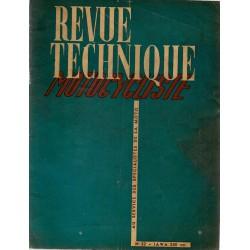 Revue Technique Motocycliste n° 32 octobre 1950