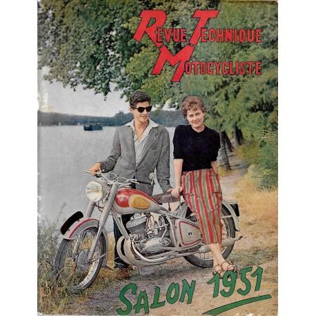 Revue Technique Motocycliste n° 43 de octobre 1951