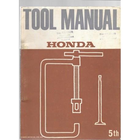 Catalogue Outillage spécifique motos HONDA 1974