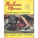 Revue Technique Motocycliste n° 56 (Jonghi) 11 / 1952