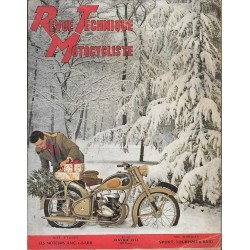 Revue Technique Motocycliste n° 58 janvier 1953