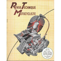Revue Technique Motocycliste n° 61 de avril 1953