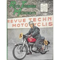 Revue Technique Motocycliste n° 67 de août 1953