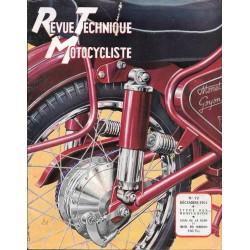 Revue Technique Motocycliste n° 72 de décembre 1953