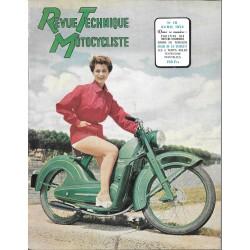 Revue Technique Motocycliste n° 78 de avril 1954
