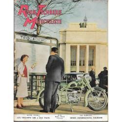 Revue Technique Motocycliste n° 79 de mai 1954