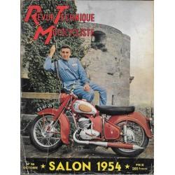 Revue Technique Motocycliste n° 86 Spécial SALON 1954