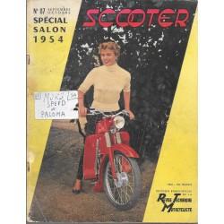 Revue Technique Motocycliste n° 87 Spécial Scooters 1954 septembre-octobre 1954