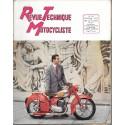 Revue Technique Motocycliste n° 91 (Peugeot) de janvier 1955