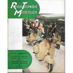 Revue Technique Motocycliste n° 92 de février 1955