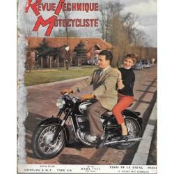 Revue Technique Motocycliste n° 93 de mars 1955