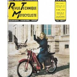 Revue Technique Motocycliste n° 94 de avril 1955