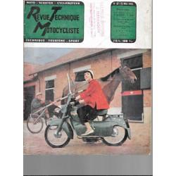 Revue Technique Motocycliste n° 97 de mai 1955