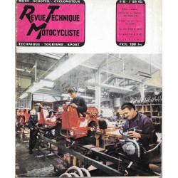 Revue Technique Motocycliste n° 98 de juin 1955
