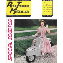 Revue Technique Motocycliste n° 99 de juin 1955