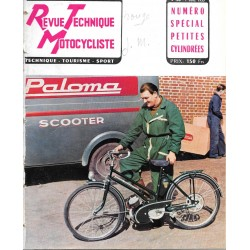 Revue Technique Motocycliste n° 100 de juillet 1955