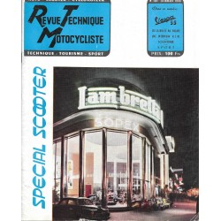 Revue Technique Motocycliste n° 101 Spécial Scooter de juillet 1955