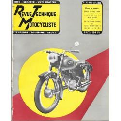 Revue Technique Motocycliste n° 102 de août-septembre 1955