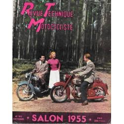 Revue Technique Motocycliste n° 103 Spécial Salon de octobre 1955