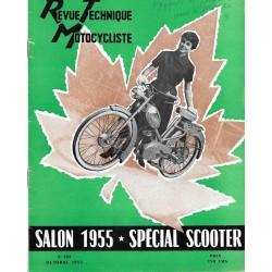 Revue Technique Motocycliste n° 104 Spécial Scooter de octobre 1955