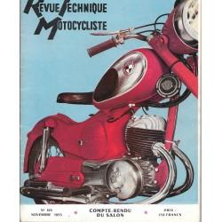Revue Technique Motocycliste n° 105 de novembre 1955