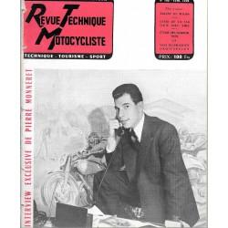 Revue Technique Motocycliste n° 109 de févrierr1956