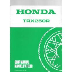 HONDA TRX 250 R (Additif novembre 1988)