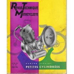 Revue Technique Motocycliste n° 113 spécial petites cylindrées de avril 1956