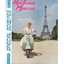 Revue Technique Motocycliste n° 115 spécial scooter de mai 1956