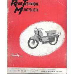 Revue Technique Motocycliste n° 117 de juin 1956