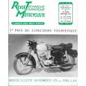 Revue Technique Motocycliste n° 125 (Monet-Goyon) 02 / 1957