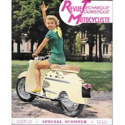 Revue Technique Motocycliste n° 130 de juillet 1957