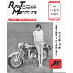 Revue Technique Motocycliste n° 131 de août-septembre 1957