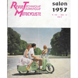 Revue Technique Motocycliste n° 132 de octobre 1957