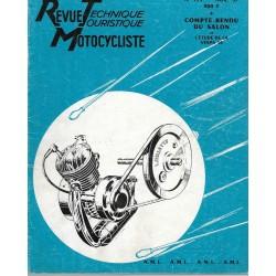 Revue Technique Motocycliste n° 133 de novembre 1957
