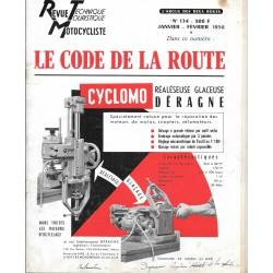 Revue Technique Motocycliste n° 134 de janvier-février 1958