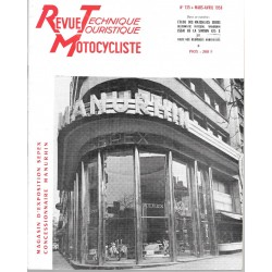 Revue Technique Motocycliste n° 135 de mars-avril 1958