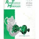 Revue Technique Motocycliste n° 136 (NSU) de mai 1958