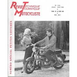 Revue Technique Motocycliste n° 138 de juil-août 1958