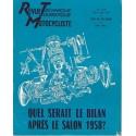Revue Technique Motocycliste n° 140 (Peugeot) 11-12 / 1958