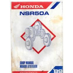 HONDA NSR 50 A 1989 (Manuel de base)