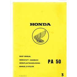 HONDA PA 50 CAMINO (Manuel de base juin 1980)