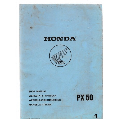 HONDA PX 50 (Manuel de base octobre 1980)